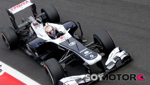 Pastor Maldonado con el Williams FW35 - LaF1