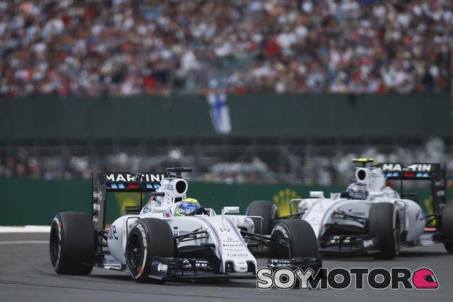 Felipe Massa y Valtteri Bottas en Silverstone - LaF1.es