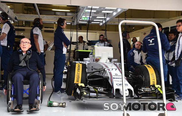 Sir Frank Williams, en la prèmiere del documental sobre su equipo - SoyMotor.com