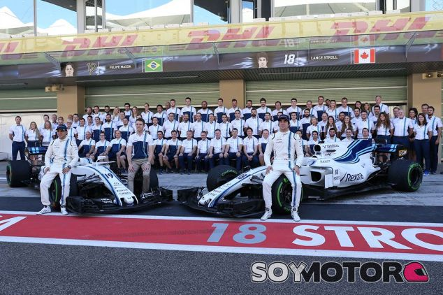 El equipo Williams en Yas Marina - SoyMotor.com