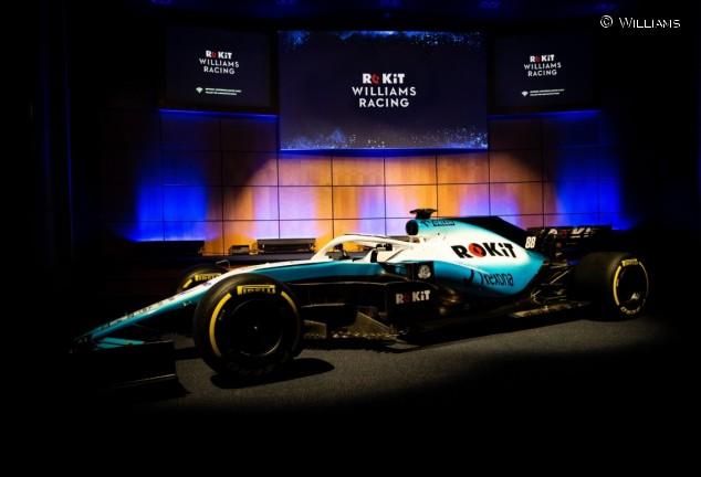 Williams presenta su nuevo FW42: colores y patrocinador nuevos - SoyMotor.com
