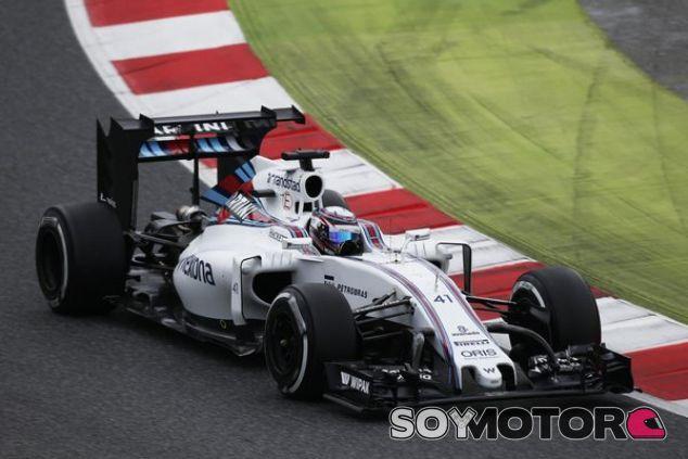 Williams ha estrenado elementos aerodinámicos para simular la carga de 2017 - LaF1