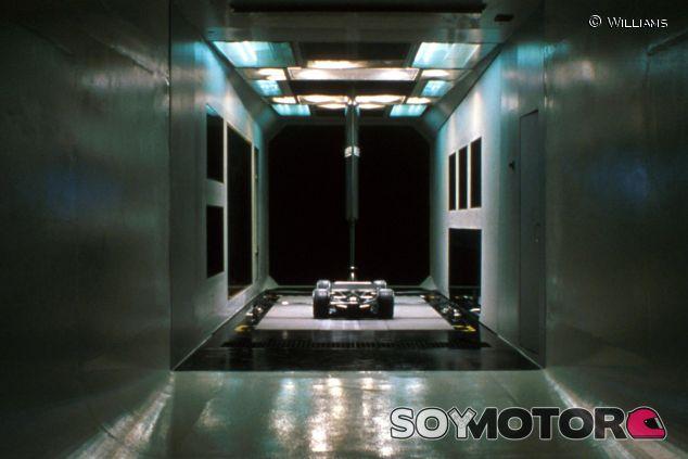 El túnel de viento de Williams en una fotografía de archivo de 2001 - LaF1