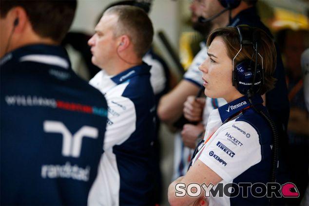 Claire Williams quiere que ella y su equipo sean más respetados por el paddock de la F1 - LaF1