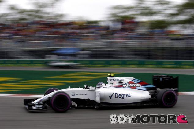 Valtteri Bottas durante la carrera en Canadá - LaF1