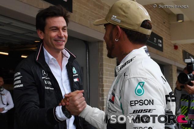 """Wolff: """"No reconocerán lo bueno que es Hamilton hasta que se vaya"""""""