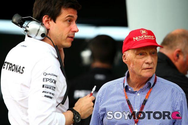 Toto Wolff y Niki Lauda trabajan juntos desde 2014 - LaF1