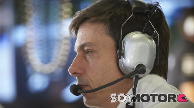 Wolff, durante un GP de la presente temporada - LaF1