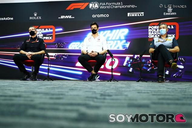 Rueda de prensa del GP de Sakhir F1 2020 - SoyMotor.com