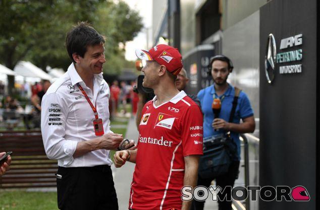 """Wolff: """"Ferrari fue simplemente más rápida y Vettel mereció ganar"""" - SoyMotor"""