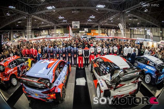 Los equipos del WRC desvelan sus colores y dorsales de 2019 - SoyMotor