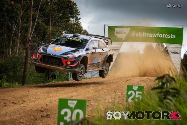 Thierry Neuville en el Rally de Australia - SoyMotor.com