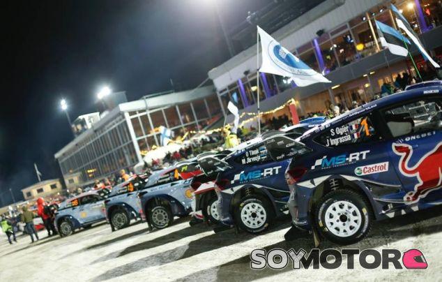 Detalle del Rally de Suecia - SoyMotor