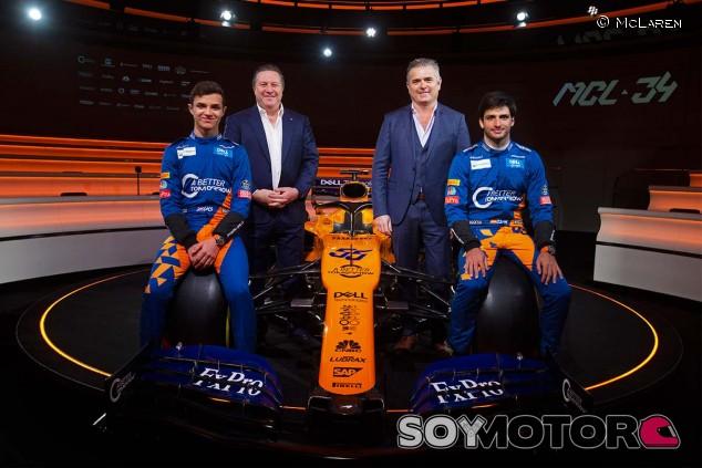 Presentación del McLaren MCL34 - SoyMotor
