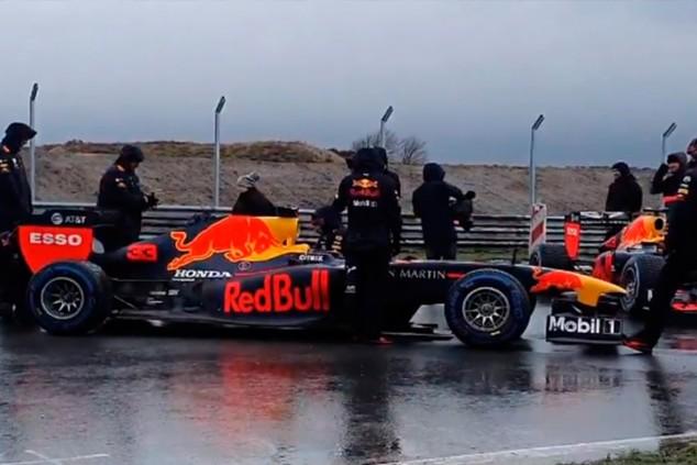 Decepción y problemas técnicos en un evento de Red Bull en Zandvoort - SoyMotor.com