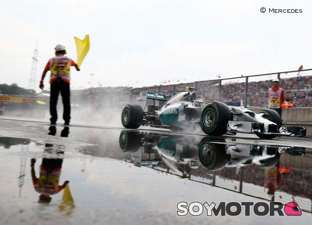 Nico Rosberg en Hungría - Laf1