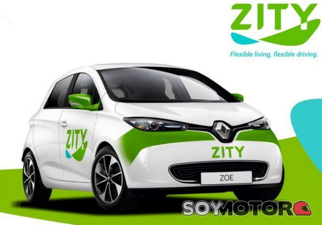 Zity: el nuevo 'car sharing' de Renault ya funciona en Madrid - SoyMotor.com