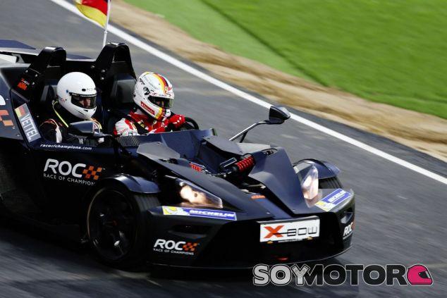 Sebastian Vettel es el nuevo campeón de la Race of Champions