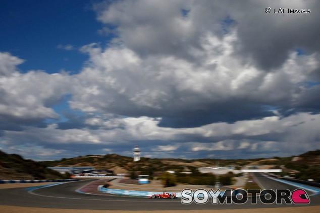 Imagen de los test invernales de 2015, en Jerez - SoyMotor.com
