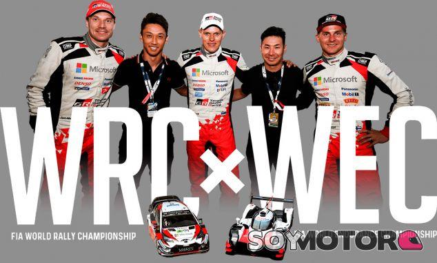 Los pilotos de Toyota WRC y WEC intercambian los asientos - SoyMotor.com