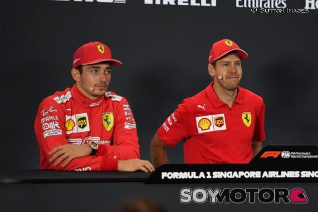 Vettel-Leclerc o la eterna historia del campeón y el 'baby killer' - SoyMotor.com