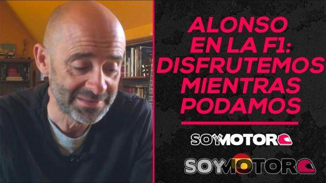 Alonso en la Fórmula 1: disfrutemos mientras podamos - SoyMotor