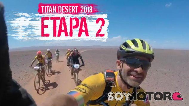 Antonio Lobato en la Titan Desert - SoyMotor