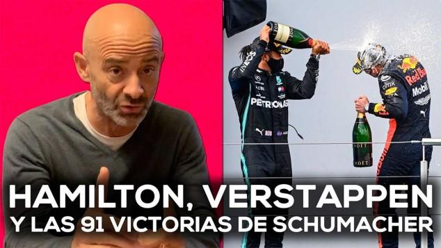 Verstappen también es responsable del éxito de Hamilton