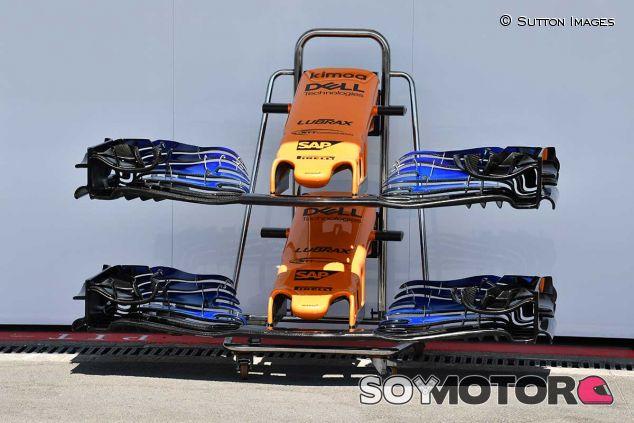 Alerones de McLaren en el GP de Azerbaiyán - SoyMotor