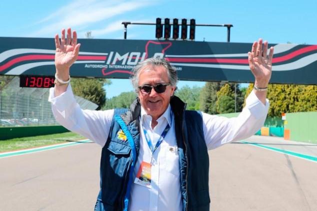 Giancarlo Minardi vuelve al paddock de la Fórmula 1 - SoyMotor.com