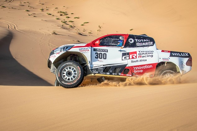 El test de Alonso del Dakar en Namibia - SoyMotor.com
