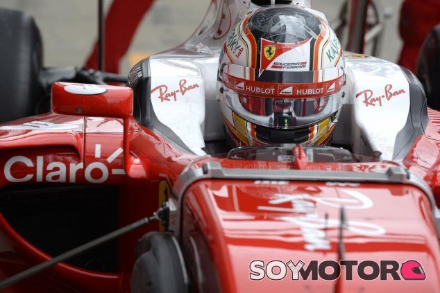 Charles Leclerc en el Ferrari SF16-H en Silverstone