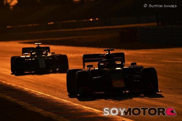 Escena de la pretemporada 2019 de Fórmula 1 - SoyMotor