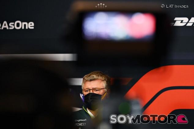 Otmar Szafnauer en el GP de la Emilia Romaña - SoyMotor.com