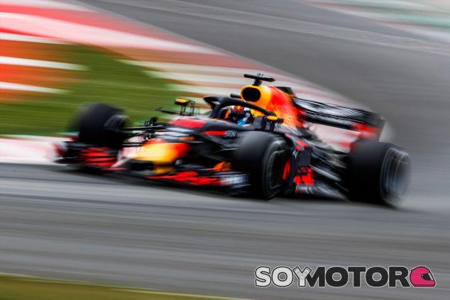Daniel Ricciardo en Barcelona - SoyMotor.com