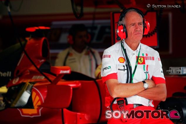 Ferrari se agarra una vez más al clavo ardiendo de Rory Byrne - SoyMotor.com