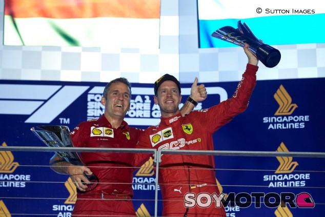 Iñaki Rueda asciende en el organigrama de Ferrari - SoyMotor.com