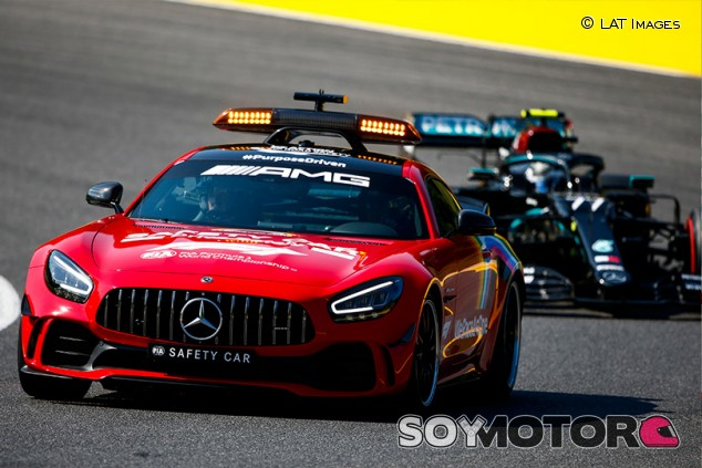 'Safety crash': el desastre del primer GP de F1 en Mugello - SoyMotor.com