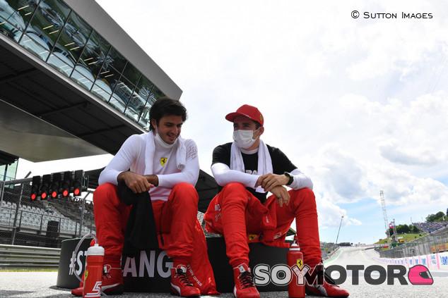 Ferrari cambia de táctica y el ritmo de carrera se transforma - SoyMotor.com