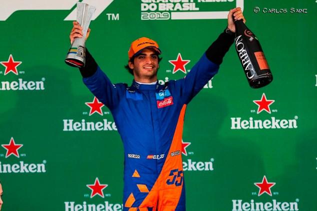 Sainz y cuando Alonso tampoco pisó el cajón del podio de Brasil - SoyMotor.com