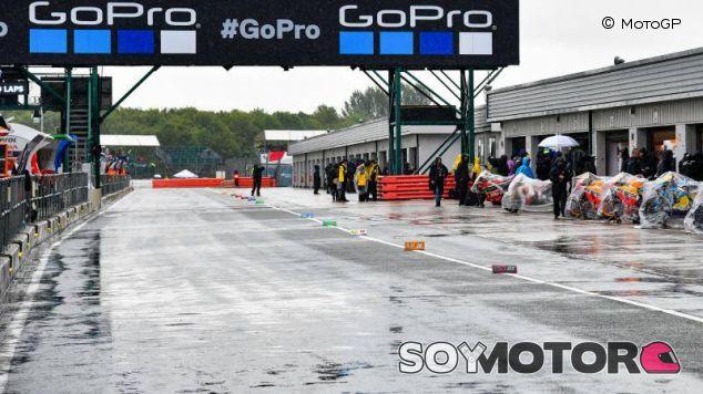 Silverstone se quedó sin GP de motos por el asfalto
