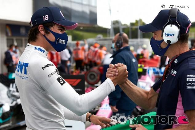 Lance Stroll se ganó la continuidad en Hungría - SoyMotor.com