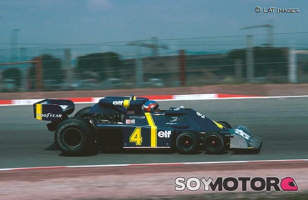 Hace 45 años, en Jarama, debutó el espectacular Tyrrell de seis ruedas - SoyMotor.com