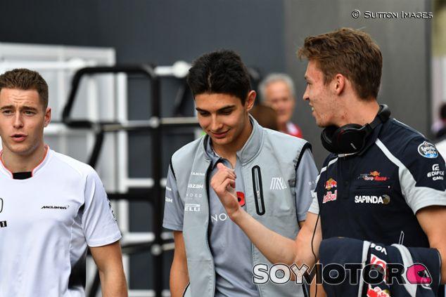 Stoffel Vandoorne, Esteban Ocon y Daniil Kvyat en Interlagos - SoyMotor.com