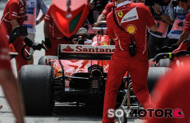 Jugada táctica obligada para Ferrari