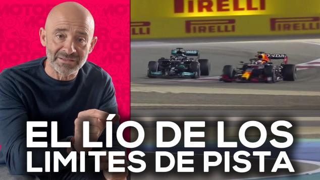 Hamilton, Verstappen y el lío de los límites de pista - SoyMotor.com