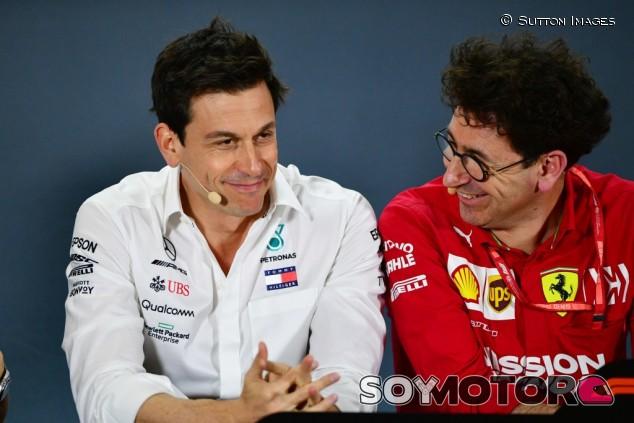 ¿Quiere Toto Wolff ganar en 2020 humillando a Ferrari? - SoyMotor.com