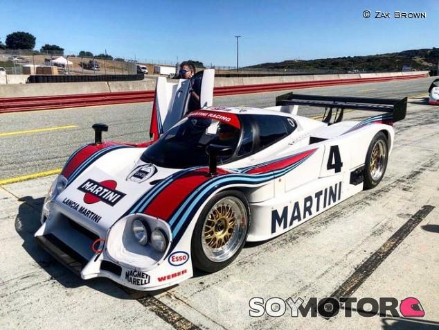 Brown se regala un nuevo y precioso juguete, un Lancia LC2 - SoyMotor.com