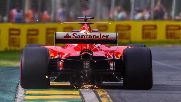 Ferrari SF70-H en Australia - SoyMotor