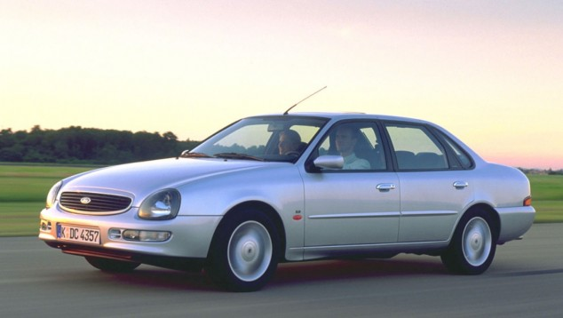 El Ford Scorpio se fabricó para Europa, desde 1994 a 1998 - SoyMotor.com
